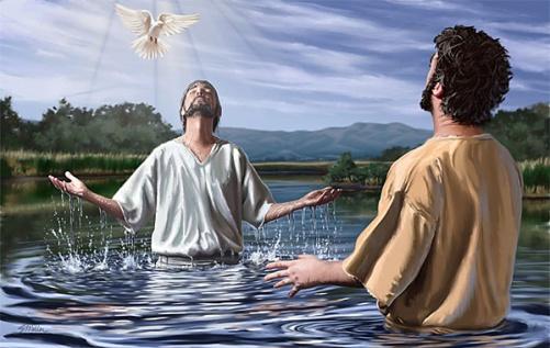 Image result for Jesus's baptism